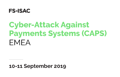 Cyber-Attack Against Payment Systems (CAPS) Exercise - EMEA 1