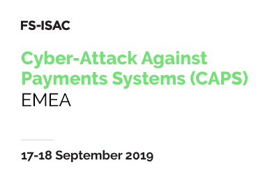 Cyber-Attack Against Payment Systems (CAPS) Exercise - EMEA 2