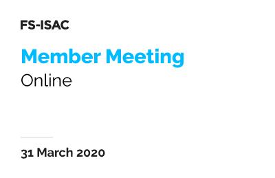 EMEA Member Meeting (Online)