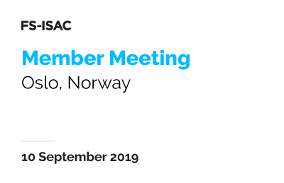 Oslo Member Meeting