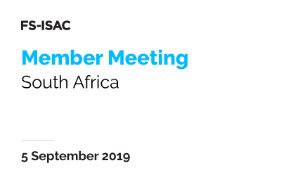South Africa Member Meeting