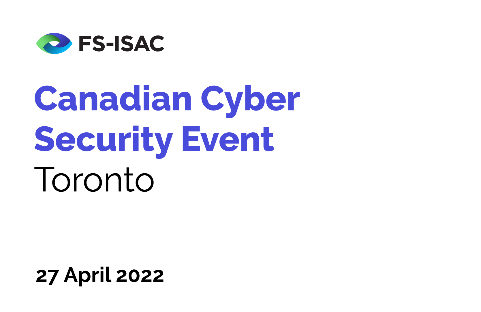 Canadian Cyber Security Event